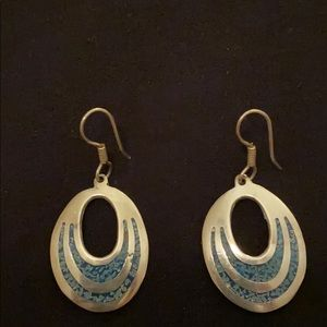 Sterling & turquoise earrings